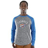 Big & Tall Majestic Oklahoma City Thunder Raglan Tee