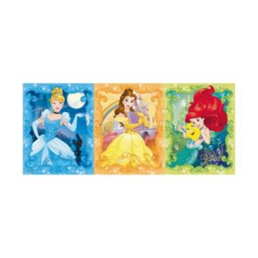 Disney Princess Cinderella, Belle & Ariel 200-pc. Panoramic Puzzle by Ravensburger
