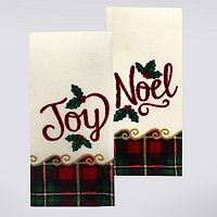 St. Nicholas Square® Joy, Noel Kitchen Towel 2-pk.