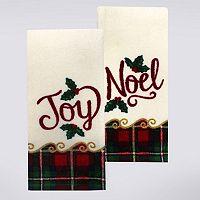 St. Nicholas Square® Joy, Noel Kitchen Towel 2-pk.