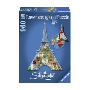 Ravensburger 960-pc. Eiffel Tower, Paris Silhouette Shaped Puzzle