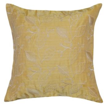 Spencer Home Decor Germain Leave Throw Pillow Cover