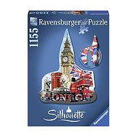 Ravensburger 1155-pc. Big Ben London Silhouette Shaped Puzzle