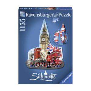 Ravensburger 1155-pc. Big Ben London Silhouette Shaped Puzzle