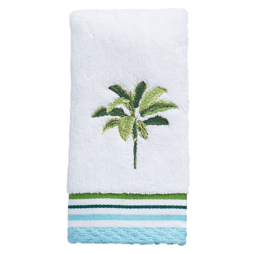 Destinations Tropical Palm Fingertip Towel