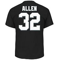 Big & Tall Majestic Oakland Raiders Marcus Allen Name and Number Tee