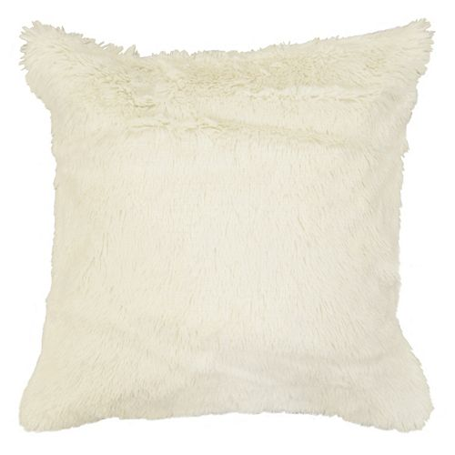 Spencer Home Decor Polar Bear Faux Fur Throw Pillow Cover