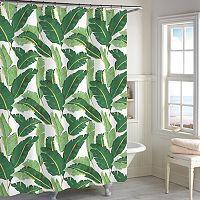 Destinations Miami Leaf Shower Curtain
