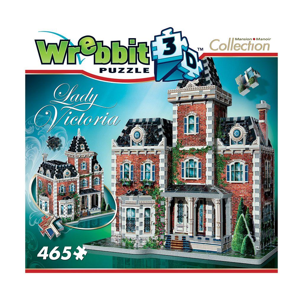 Wrebbit 465-pc. Mansion Collection Lady Victoria 3D Puzzle