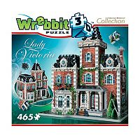 Wrebbit 465-pc. Mansion Collection Lady Victoria 3D Puzzle