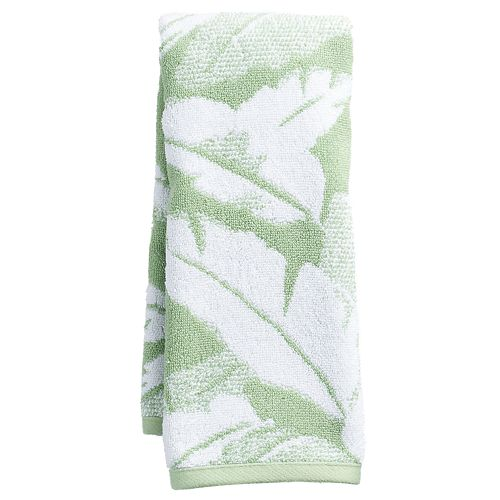 Destinations Miami Leaf Hand Towel