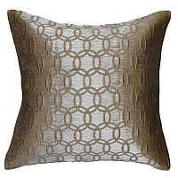 Spencer Home Decor Strie Circles Throw Pillow Cover