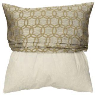 Spencer Home Decor Strie Circles Throw Pillow Cover