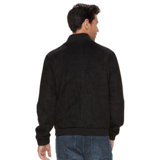 Men's Marc Anthony Slim-Fit Faux-Suede Bomber Jacket