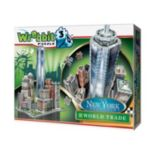 Wrebbit 875 pc New York Collection World Trade 3D Puzzle