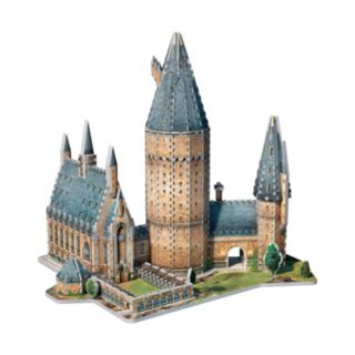 Harry Potter Collection 850-pc. Hogwarts Great Hall 3D Puzzle by Wrebbit