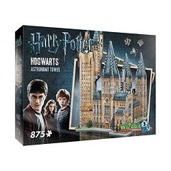 Harry Potter Collection 875 pc Hogwarts Astronomy Tower 3D Puzzle by Wrebbit