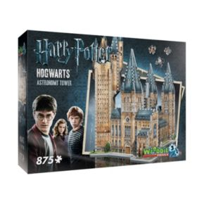 Harry Potter Collection 875-pc. Hogwarts Astronomy Tower 3D Puzzle by Wrebbit