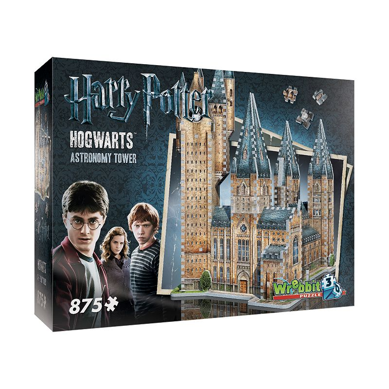 Harry Potter Collection 875-pc. Hogwarts Astronomy Tower 3D Puzzle by Wrebbit Journey into the magical world of Harry Potter with this Harry Potter Collection 875-pc. Hogwarts Astronomy Tower 3D Puzzle by Wrebbit. Fully-interlocking pieces WHAT'S INCLUDED 875 pieces Assembled size: 15.5  x 12.75  x 19.25  Age: 14 years & up Imported Model no. WRW3D2015 Size: One Size. Color: Multicolor. Gender: unisex. Age Group: kids.