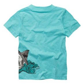 Toddler Boy Hurley Wrap-Around Jaws Logo Graphic Tee