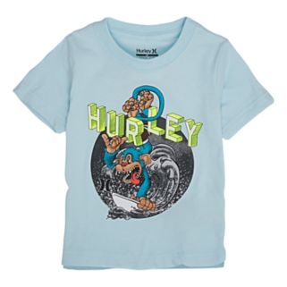 "Toddler Boy Hurley ""Hang Ten"" Graphic Tee"