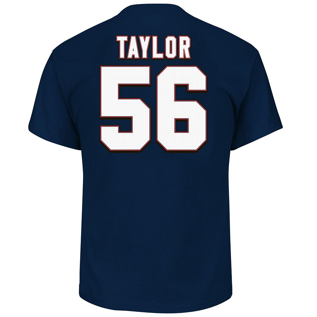 Big & Tall Majestic New York Giants Lawrence Taylor Name and Number Tee