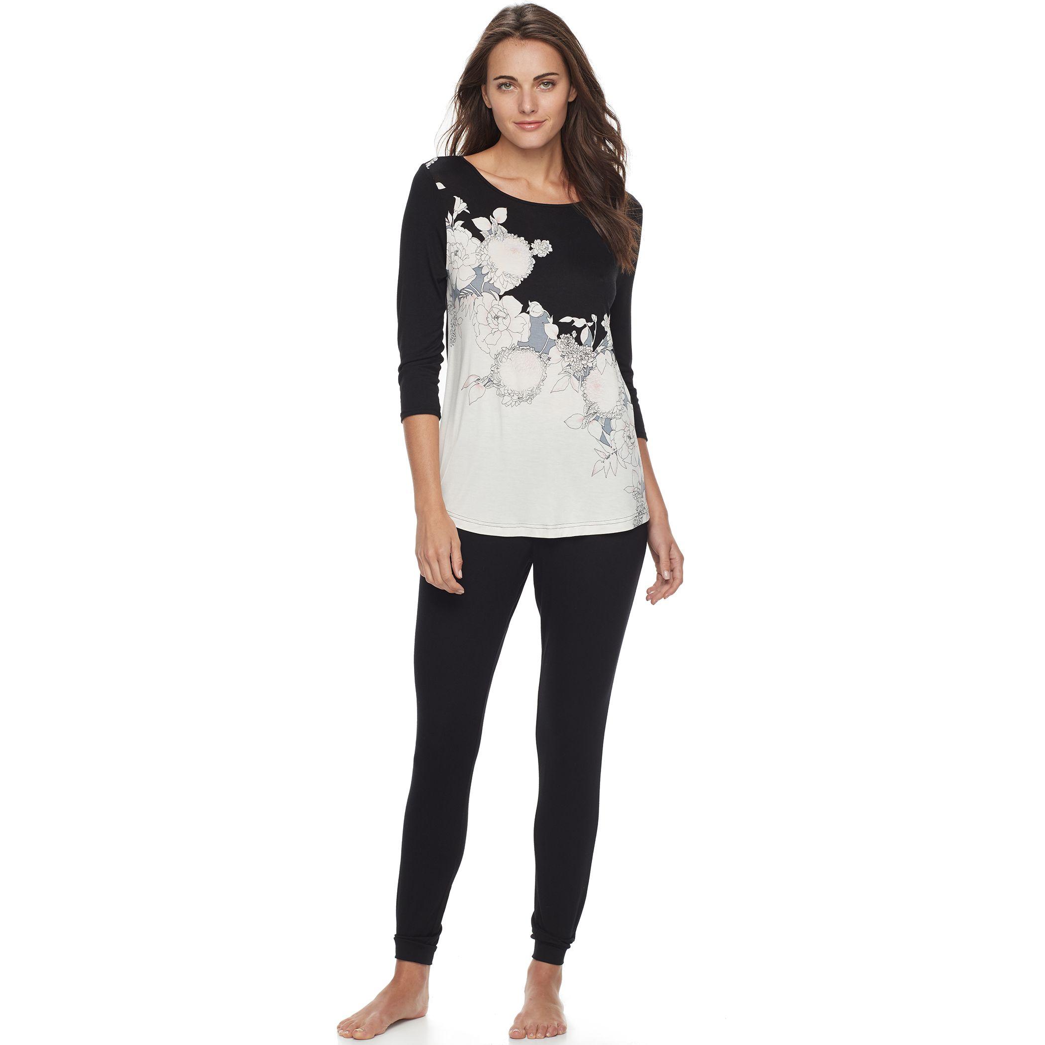 2944254_Black_And_White?wid=240&hei=240&op_sharpen=1 apt 9 sleepwear, clothing kohl's,Kohls Apt 9 Womens Clothing