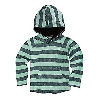 Toddler Boy Hurley Striped Raglan Pullover Hoodie