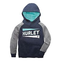 Toddler Boy Hurley Logo Pullover Hoodie