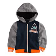 Toddler Boy Hurley Shark Zip Hoodie