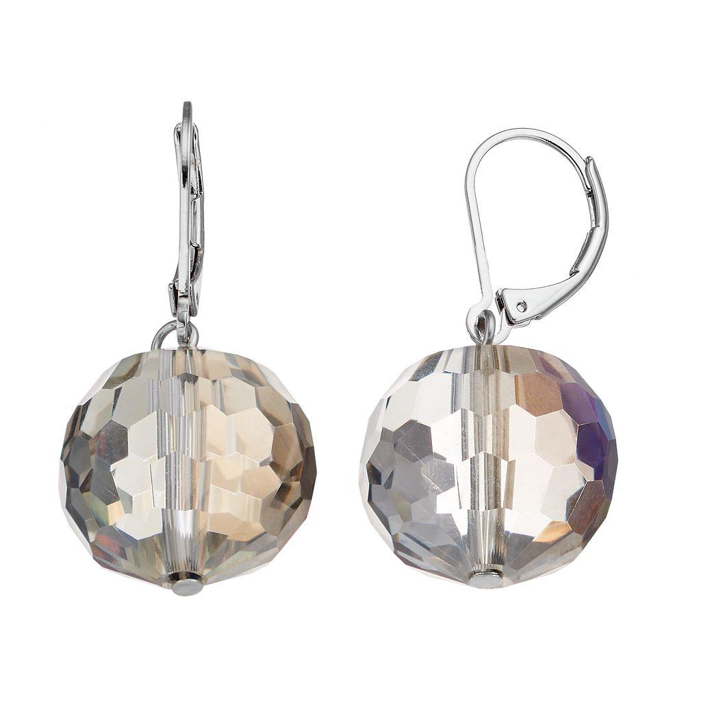 Simply Vera Vera Wang Iridescent Bead Nickel Free Drop Earrings