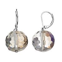 Simply Vera Vera Wang Iridescent Bead Nickel Free Drop Earrings