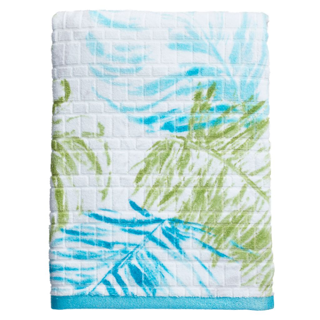 Destinations Tulum Print Bath Towel