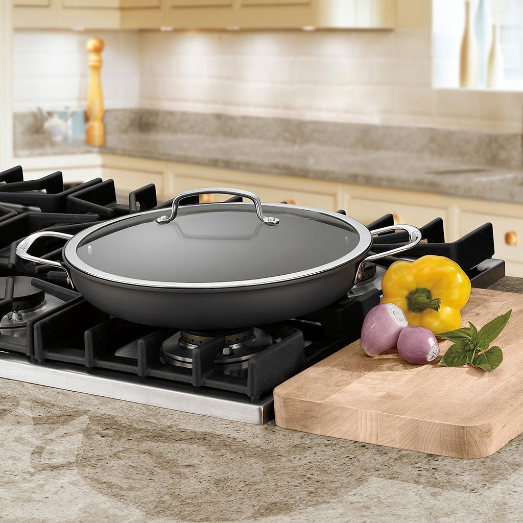 Cuisinart Contour 12-in. Hard-Anodized Everyday Pan