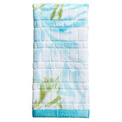 Destinations Tulum Print Fingertip Towel