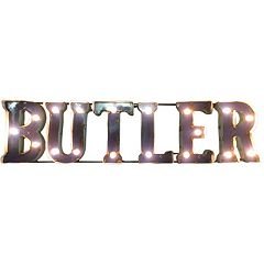 Butler Bulldogs Light-Up Wall Décor