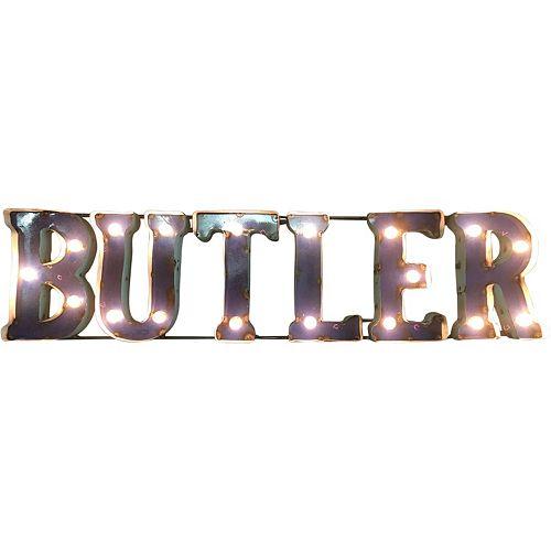 Butler Bulldogs Light-Up Wall Décor