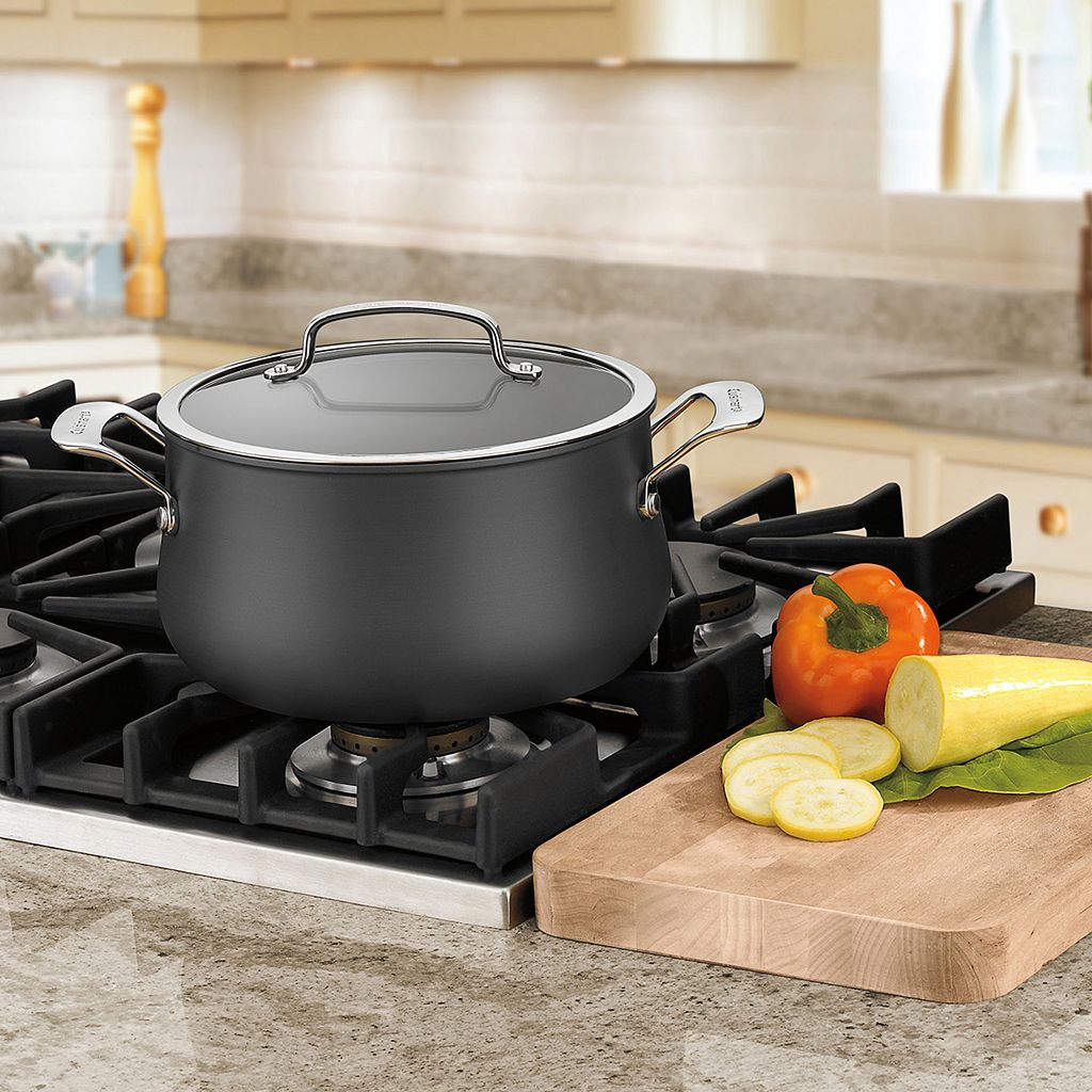 Cuisinart Contour 5-qt. Hard-Anodized Dutch Oven