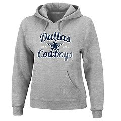 Plus Size Majestic Dallas Cowboys Pullover Hoodie