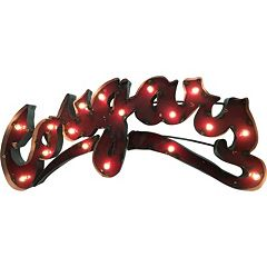 Washington State Cougars Light-Up Wall Décor