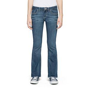 Girls Plus Size Levi's 715 Thick Stitch Taylor Bootcut Jeans