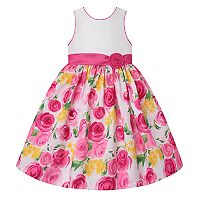 Girls 7-16 American Princess Rose Floral Skirt Dress