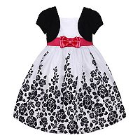 Girls 7-16 Size American Princess Mock Bolero Floral Dress