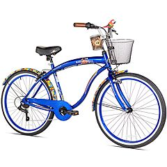 Men's Margaritaville 26-Inch Coast is Clear 7-Speed Cruiser Bike