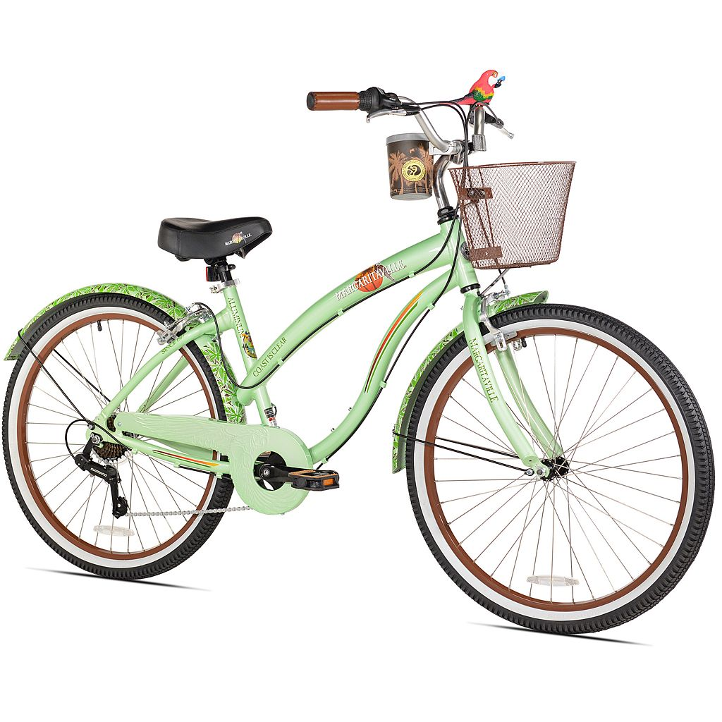 Women's Margaritaville 26-Inch Coast is Clear 7-Speed Cruiser Bike