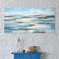 Artissimo Designs On the Strand Canvas Wall Art