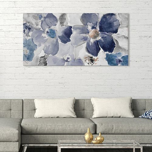 Artissimo Designs Cool Sonata II Canvas Wall Art