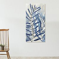 Artissimo Designs Sea Nature in Blue II Canvas Wall Art