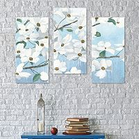 Artissimo Designs Graceful Touch Canvas Wall Art 3-piece Set