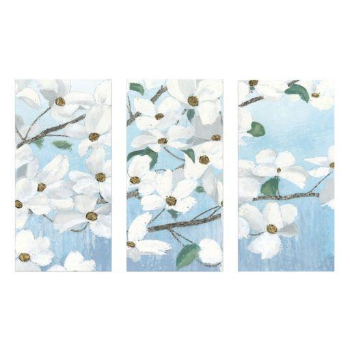 Artissimo Designs Graceful Touch Canvas Wall Art 3-piece Set